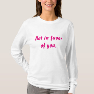 ないあなたを支持して Tシャツ