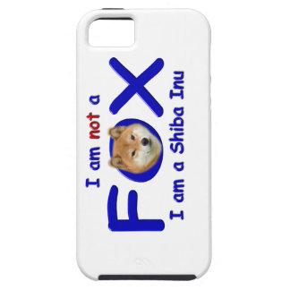 ないキツネの柴犬のIphoneカバー iPhone SE/5/5s ケース