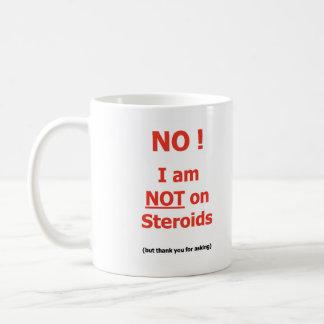 ないステロイドのマグで コーヒーマグカップ