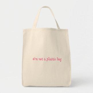 ないプラスチック買い物袋 トートバッグ