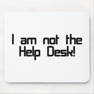 ないヘルプデスク・ マウスパッド