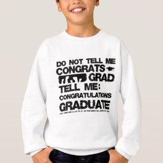 ない卒業生 スウェットシャツ