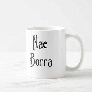 ない問題のためのNae Borraグラスゴーの俗語 コーヒーマグカップ