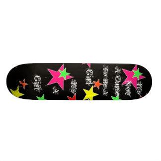 ない悪態2 B女の子 オリジナルスケートボード