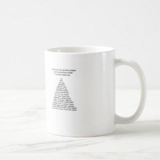 ない無限連鎖講 コーヒーマグカップ