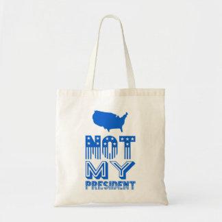 ない私のアメリカ大統領の青 トートバッグ