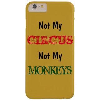 ない私のサーカスない私の猿のIPhone6ケース Barely There iPhone 6 Plus ケース