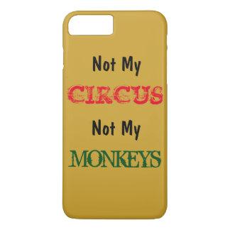 ない私のサーカスない私の猿のiPhone 7の場合 iPhone 8 Plus/7 Plusケース
