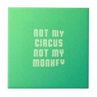 ない私のサーカスない私の猿 タイル
