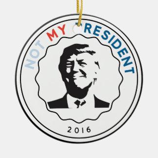 ない私の大統領 セラミックオーナメント