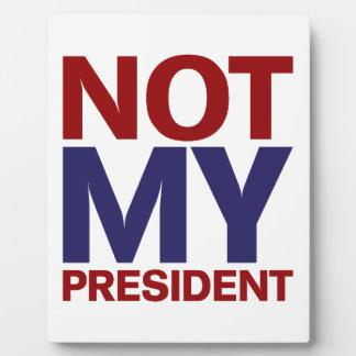 ない私の大統領 フォトプラーク