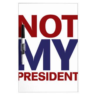 ない私の大統領 ホワイトボード