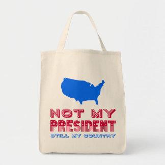 ない私の大統領Still My Countryアメリカの赤い青 トートバッグ