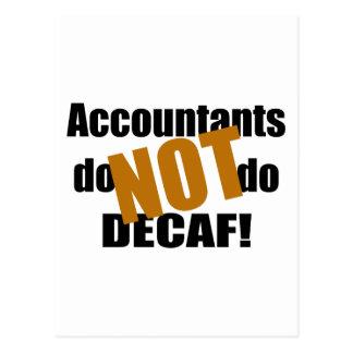 ないDecaf -会計士 ポストカード