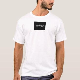 ないWWJD期待して下さい Tシャツ