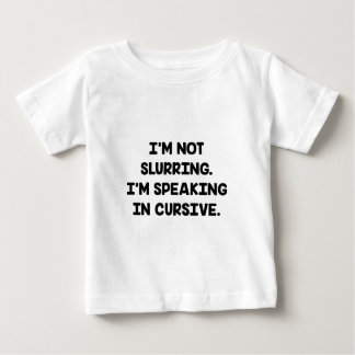 なおざりにしません ベビーTシャツ