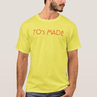 なされる70年代 Tシャツ