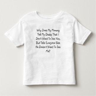 なぜするお母さんを….か。 トドラーTシャツ