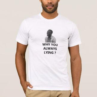 なぜ常にあっているか。 Tシャツ