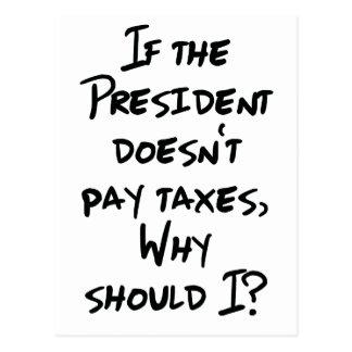 なぜ支払税か。 ポストカード
