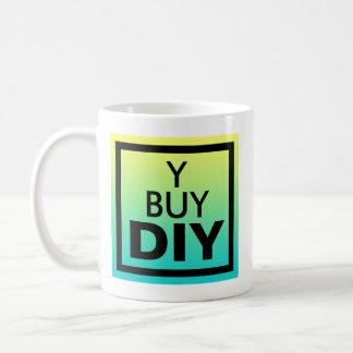 なぜ買物か。 DIYの声明 コーヒーマグカップ