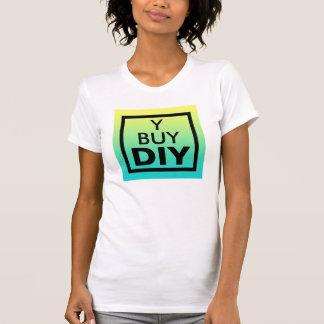 なぜ買物か。 DIYの声明 Tシャツ