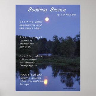 なだめるような沈黙の詩ポスター ポスター