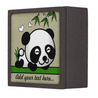 なにも疑わないパンダ ギフトボックス