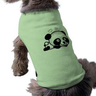 なにも疑わないパンダ ペット服