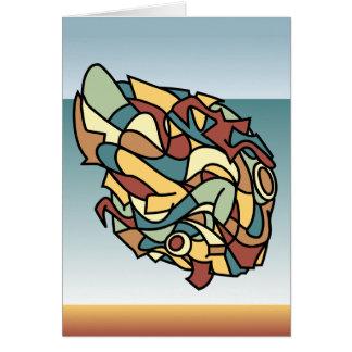 なま臭い抽象芸術 カード