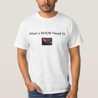 なんとノブの頭部!か!! Tシャツ
