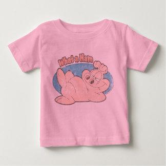 なんとハムのベビーのワイシャツか ベビーTシャツ