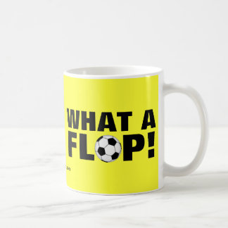 なんとフロップか! -サッカー コーヒーマグカップ