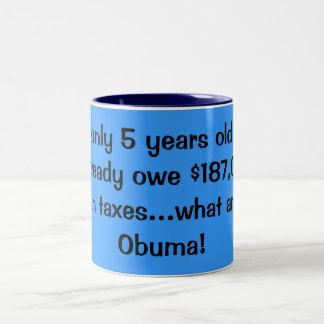なんとObumaか ツートーンマグカップ