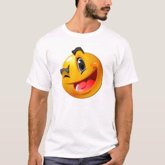 にこやかなまばたきのワイシャツ Tシャツ