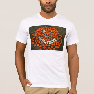 にこやかなカボチャ及びひょうたん Tシャツ