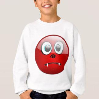 にこやかな吸血鬼 スウェットシャツ