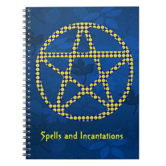 にこやかな星形五角形 ノートブック
