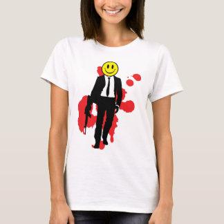 にこやかな殺し屋 Tシャツ