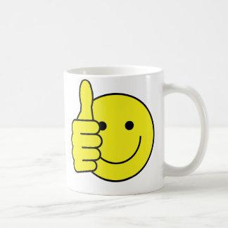 にこやかな親指 コーヒーマグカップ