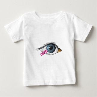 にせ医者の乳児のワイシャツ ベビーTシャツ