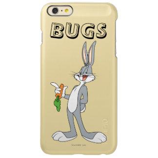 にんじんが付いているバッグス・バニーの™ INCIPIO FEATHER SHINE iPhone 6 PLUSケース