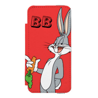 にんじんが付いているバッグス・バニーの™ INCIPIO WATSON™ iPhone 5 財布 ケース