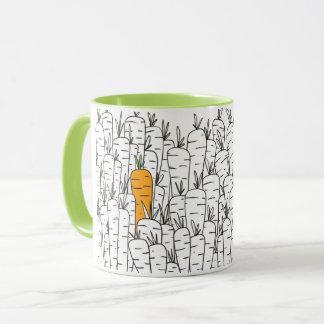 にんじんのコンボのマグ マグカップ