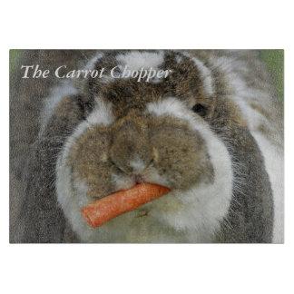 にんじんのチョッパー-ウサギのまな板 カッティングボード