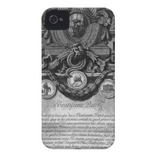 に従って教皇の紋章付き外衣を隠して下さい Case-Mate iPhone 4 ケース