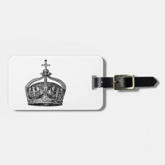 に王[王冠] ラゲッジタグ