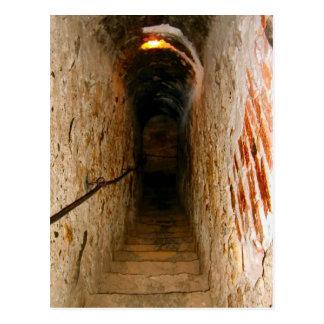 ぬかの城、トランシルバニアの階段 ポストカード