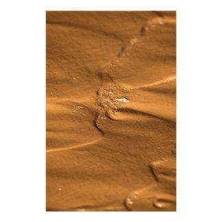 ぬれた泥の流れの構造 便箋