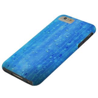 ぬれた青く堅いiPhone 6のプラスの場合 Tough iPhone 6 Plus ケース